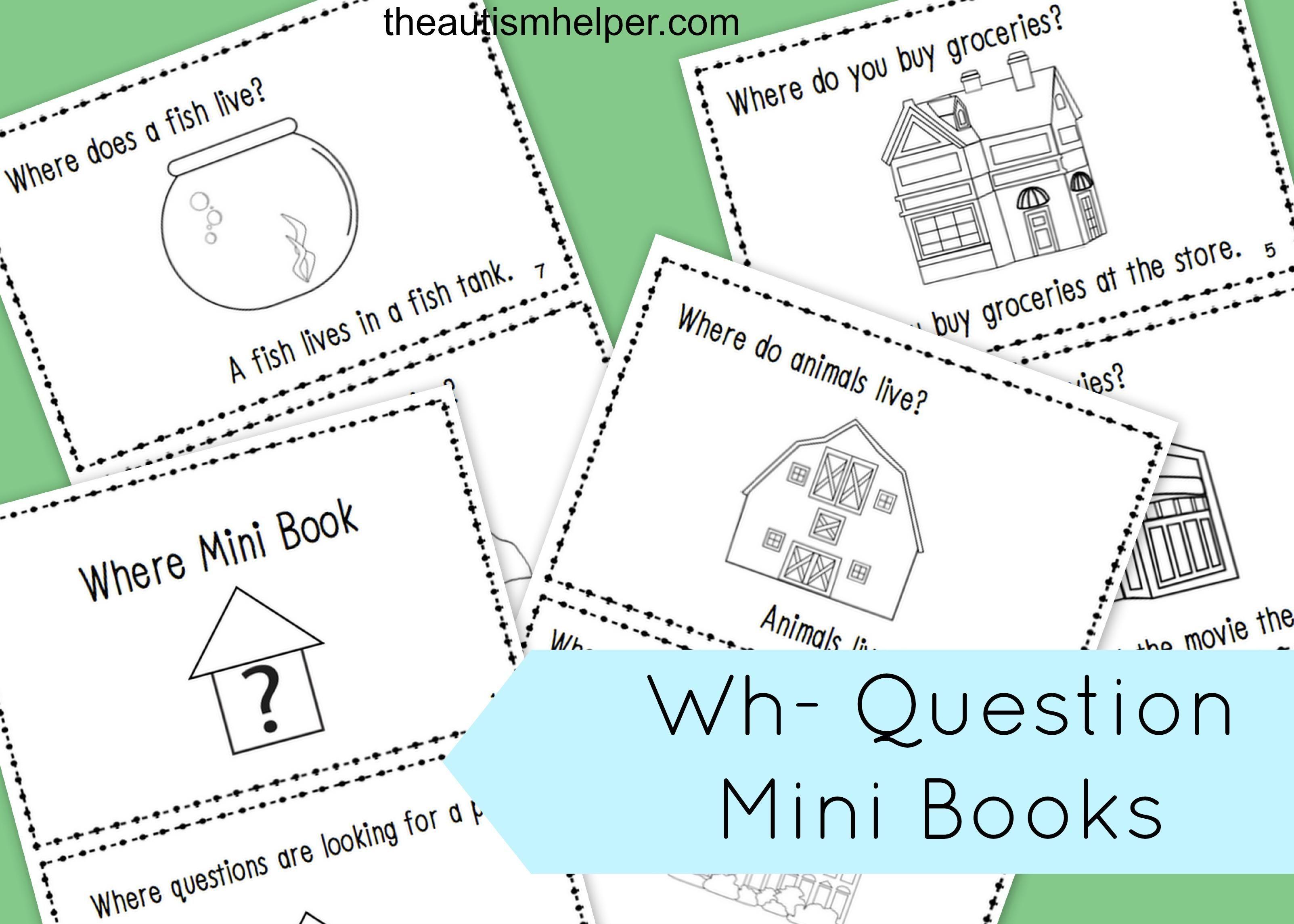 Wh Question Mega Pack