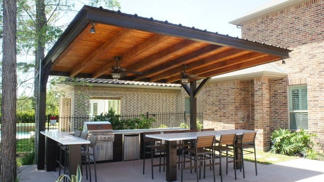 Modern Patio Overhang | Modern Patio Cover #3613