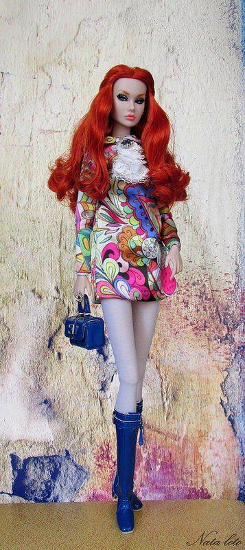 68e9ef5e6 poppyparker ✿ Integrity Toys Doll Club✿   Vestidos da Barbie ...