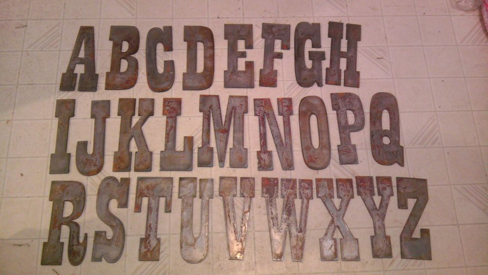 17 best images about metal letters on pinterest revolver pistol magnets and stencils