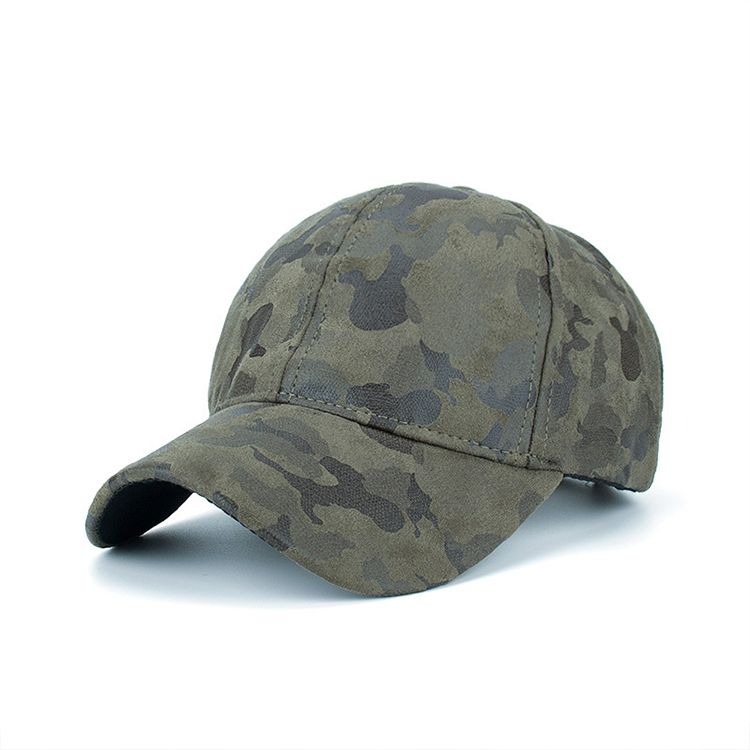 4a9e1985639e4 Wholesale custom fitted army camo suede 6 panel baseball cap hat ...