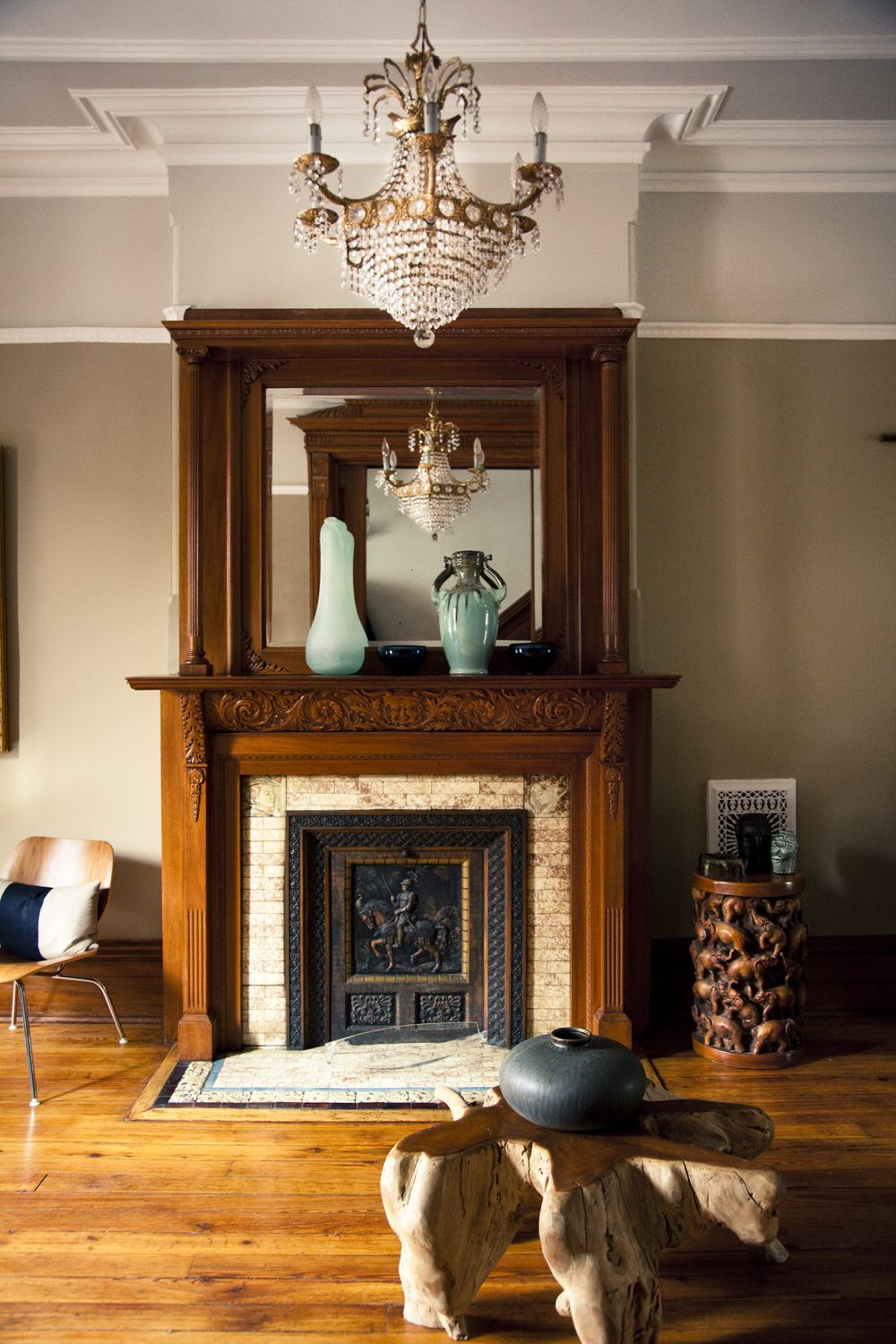 Large Fireplace Antique Pier Mirror Available from my Brownstone ...