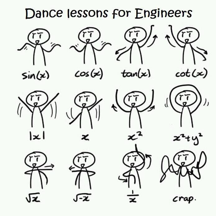 6f9974b3d Dance Lessons for Engineers... yeah that sounds about right.