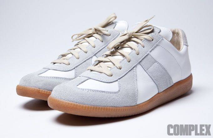 Maison Margiela Line 22 German Army Trainers vs. Bundeswehr