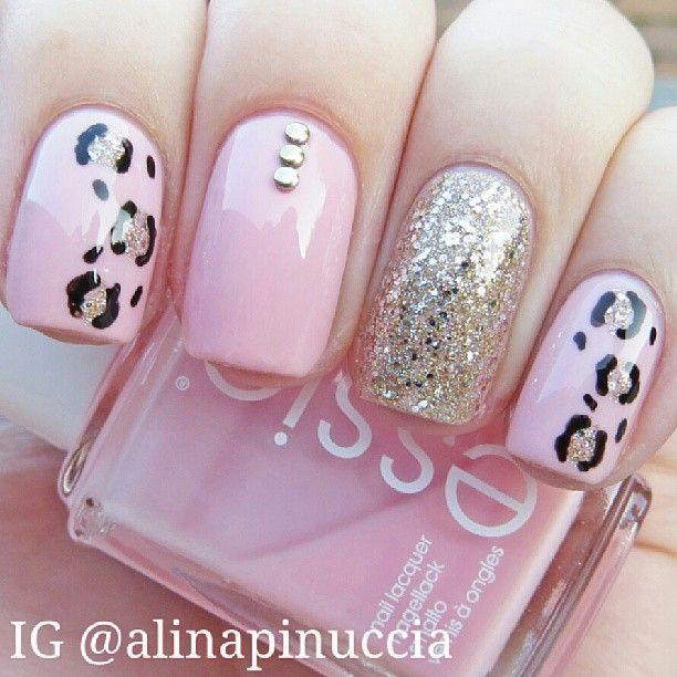 Pin By Aneeqa On Thee Art Of Nails Pink Nails Nail Designs Pretty Nails