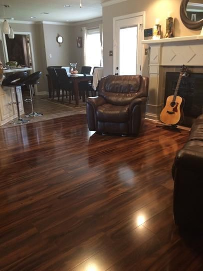 Home Decorators Collection High Gloss Kapolei Koa 12 Mm Thick X 5 9 X2f 16 In Wide X 47 3 X2f 4 In Le Laminate Wood Flooring Colors Flooring House Flooring