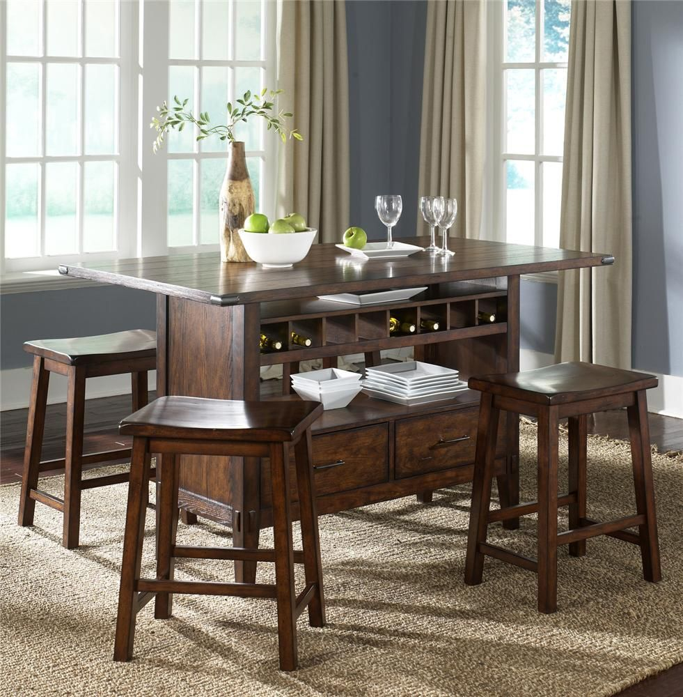 Something Like This   Country Kitchen Regular Table With Storage Underneath  And Benches All