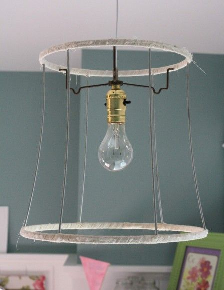 Scrappy Lampshade Tutorial And Long Story With Images Diy