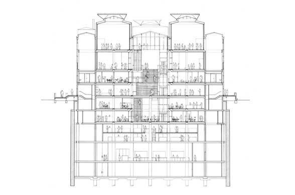Carré du0027Art - Médiathèque of Nîmes Foster + Partners HIGH TECH - maison avec tour carree