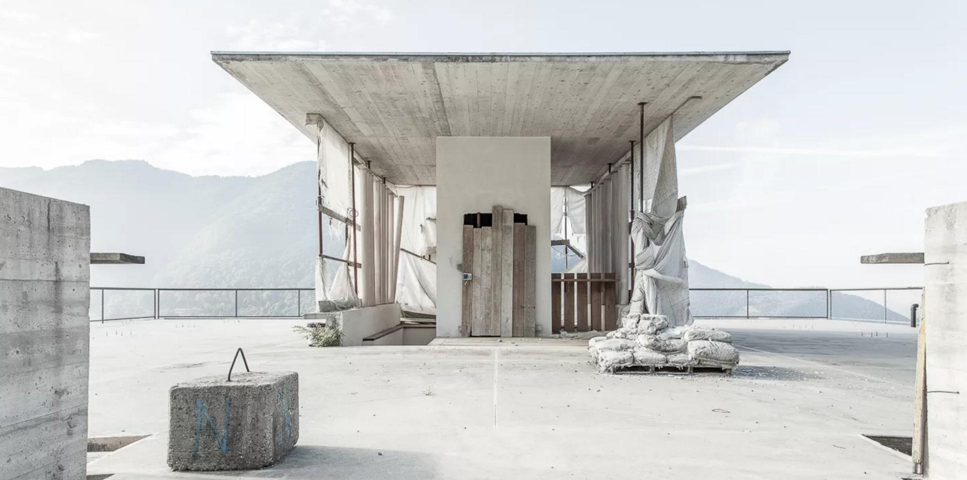 #Architecture in #Italy - #WIP by Bruno Vaerini, ph Luca Santiago Mora