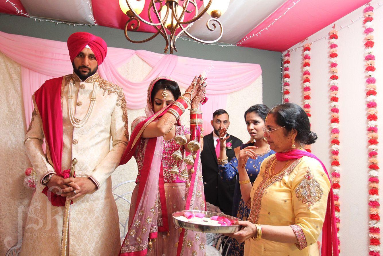 Doli. Rice toss. Indian wedding   JSK Indian Wedding Inspiration ...