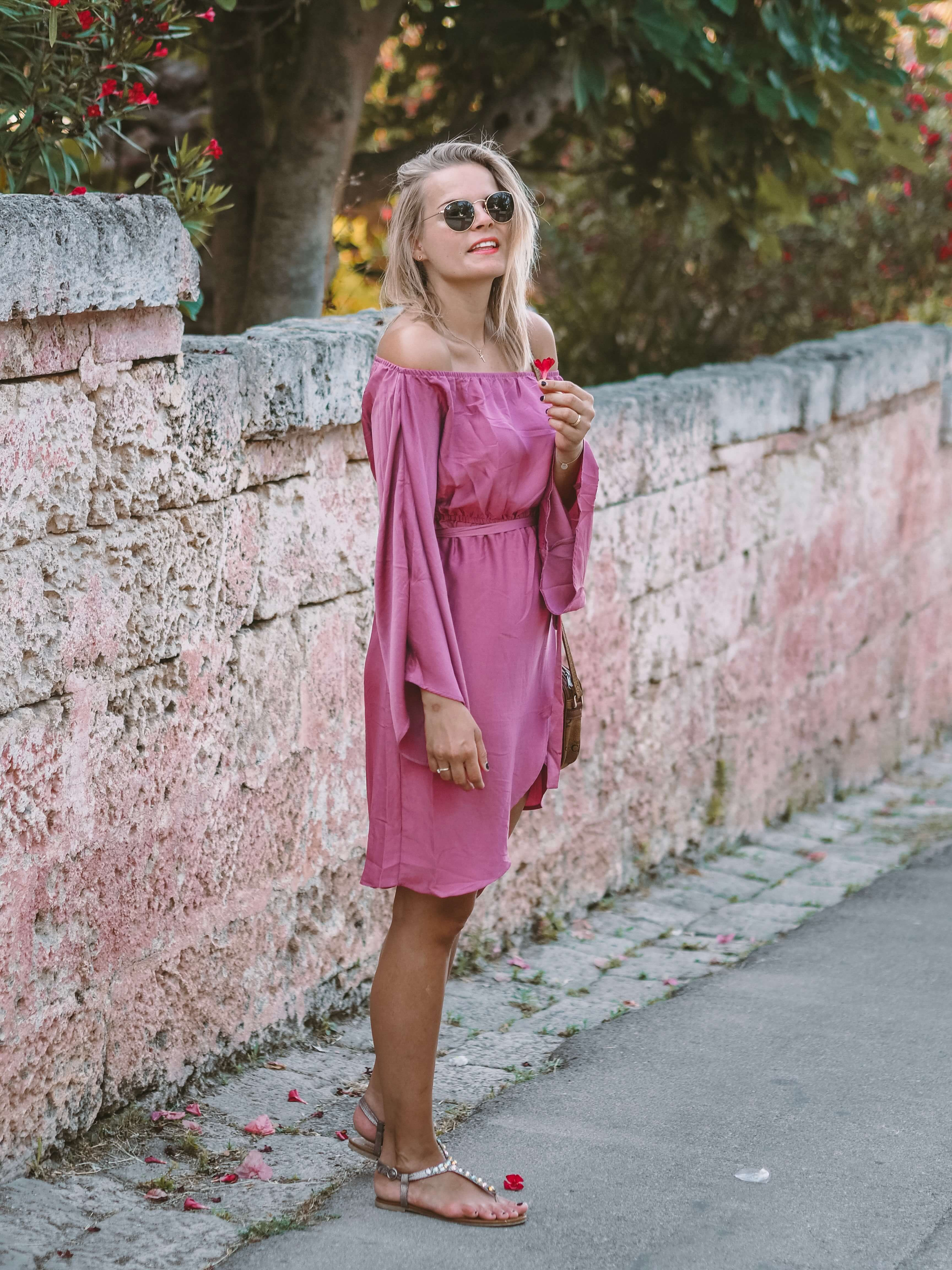Outfit A Little Touch Of Pink La Katy Fox Sommerkleid Kurz Modestil Kleider