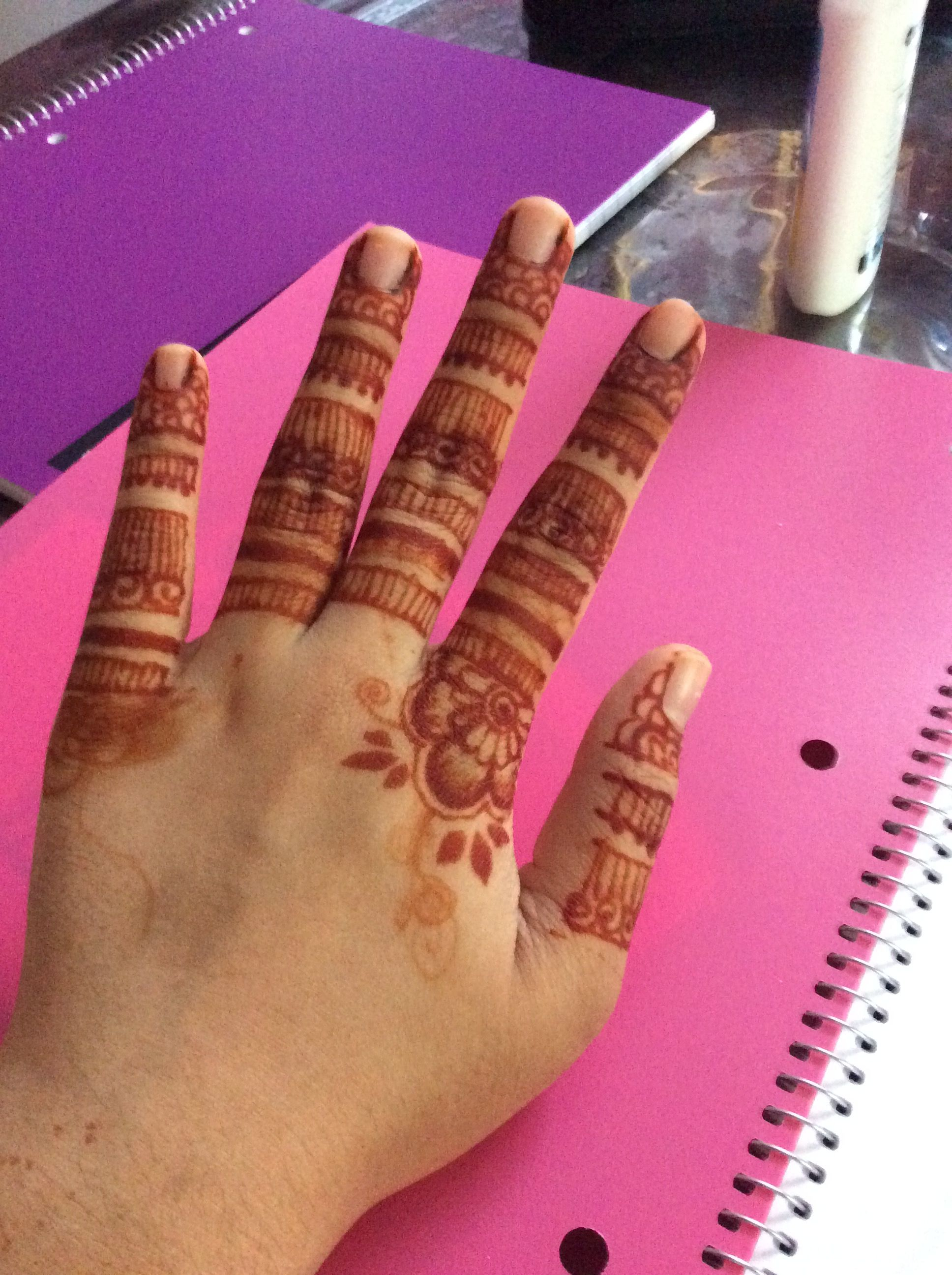 052d8e453c2d9 Henna design finger only Loved it !! | Henna | Henna, Mehndi designs ...
