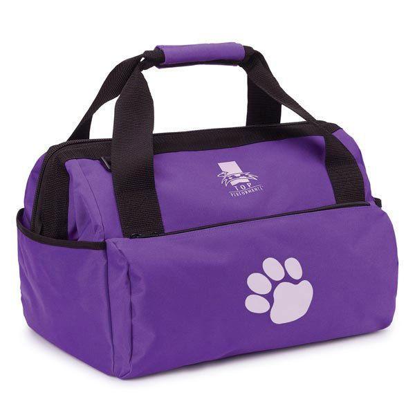 Top Performance Dog Groomer Grooming Duffle Bag Carrier Organizer Storage Purple