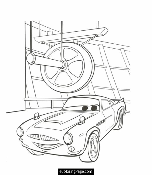 Cars 2 Printable Coloring Pages Hit Movie Cars 2 Finn Mcmissile Coloring Page Printable Cars 2 Cars Coloring Pages Coloring Pages Mermaid Coloring Pages