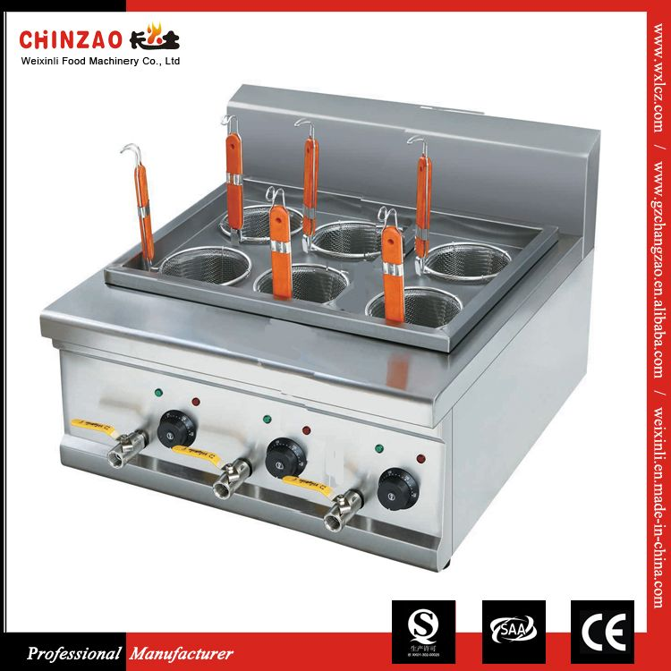 Commercial Counter Top Noodle Cooking Machine Electric Pasta