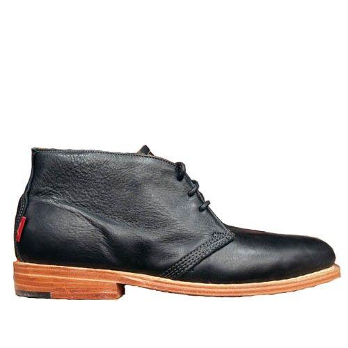 Leather Dress Chukka Black - $146.00