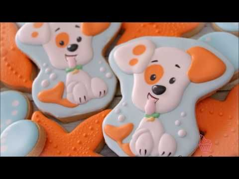 Bubble Puppy Cookies By Emma S Sweets Youtube Animal