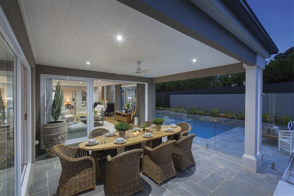 Porter davis homes house design brookwater b champignon for Porter davis home designs