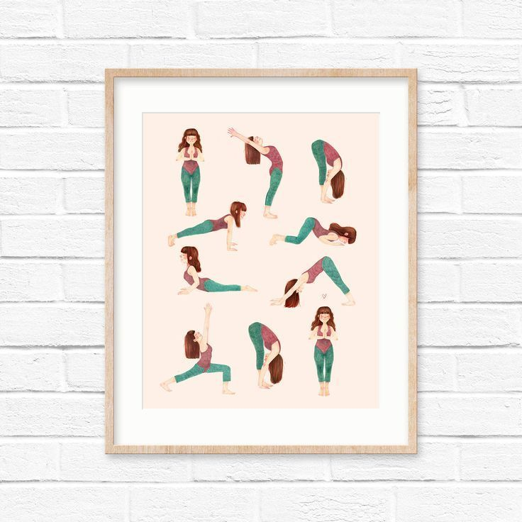 Asana Illustration Yoga  Asana illustration #asana #illustration & asana illustration & illustration d'asana & ilustració #asana #Illustration #Yoga