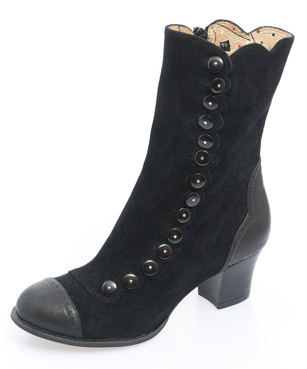50a684ddf Black Nancy boot Calzas