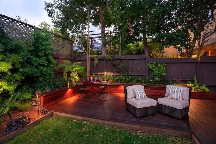 decoracion para jardines pequeños bajos Pinterest Decoracion - jardines en terrazas