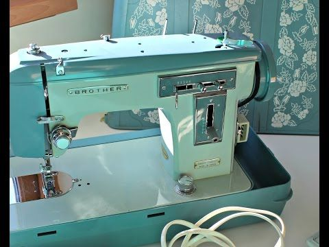How To Use A Vintage Brother Sewing Machine JA 40 Download The Beauteous Vintage Brother Sewing Machine Manual