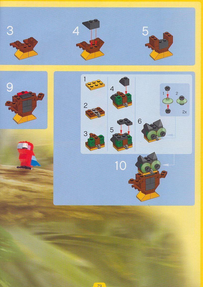 Creator Wild Collection [Lego 4101] in 2020 Lego, Lego