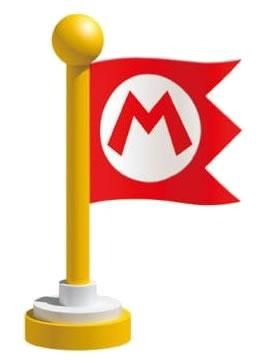 A Mario Marker Flag From The Official Artwork Set For Supermario3dland On 3ds Supermario H Super Mario Party Super Mario Bros Birthday Party Super Mario 3d