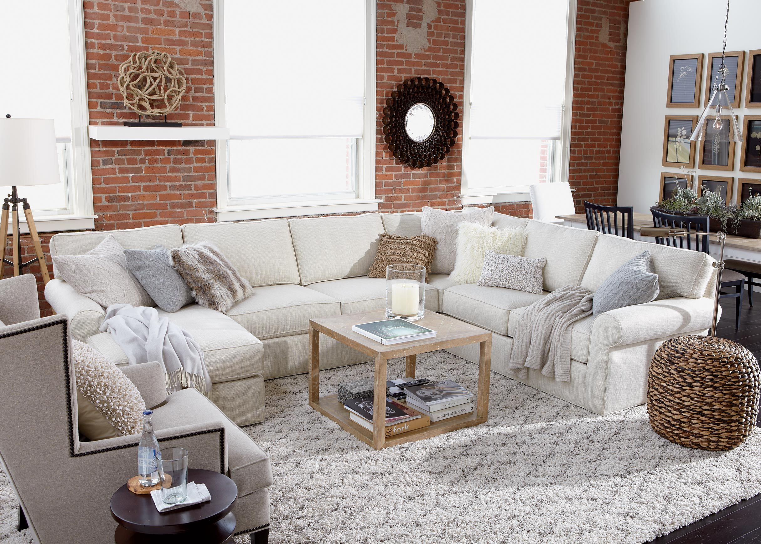 Neutral Interiors Conversation Piece Living Room