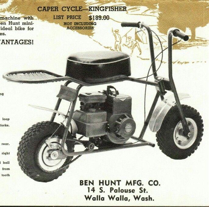 CAPER CYCLE KINGFISHER MINIBIKE