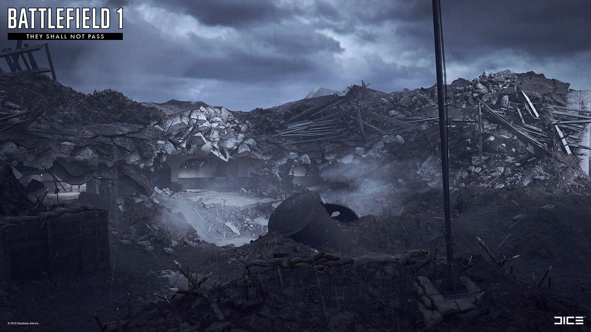 Artstation Battlefield 1 Fort De Vaux Oscar Johansson
