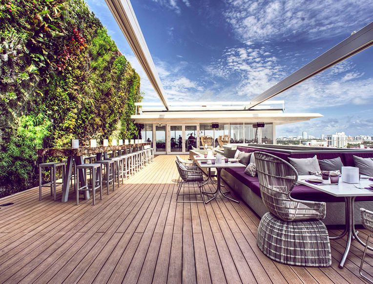 The Miami Guide Drink Miami restaurants, Rooftop