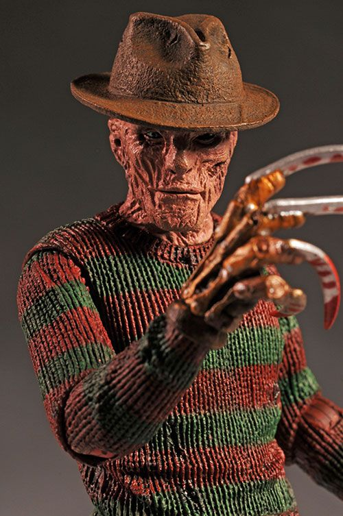 Nightmare On Elm Street Freddy Krueger Action Figure With Images