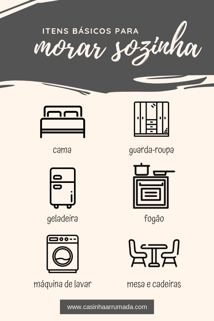 Photo of Itens básicos para morar sozinha: o que comprar?