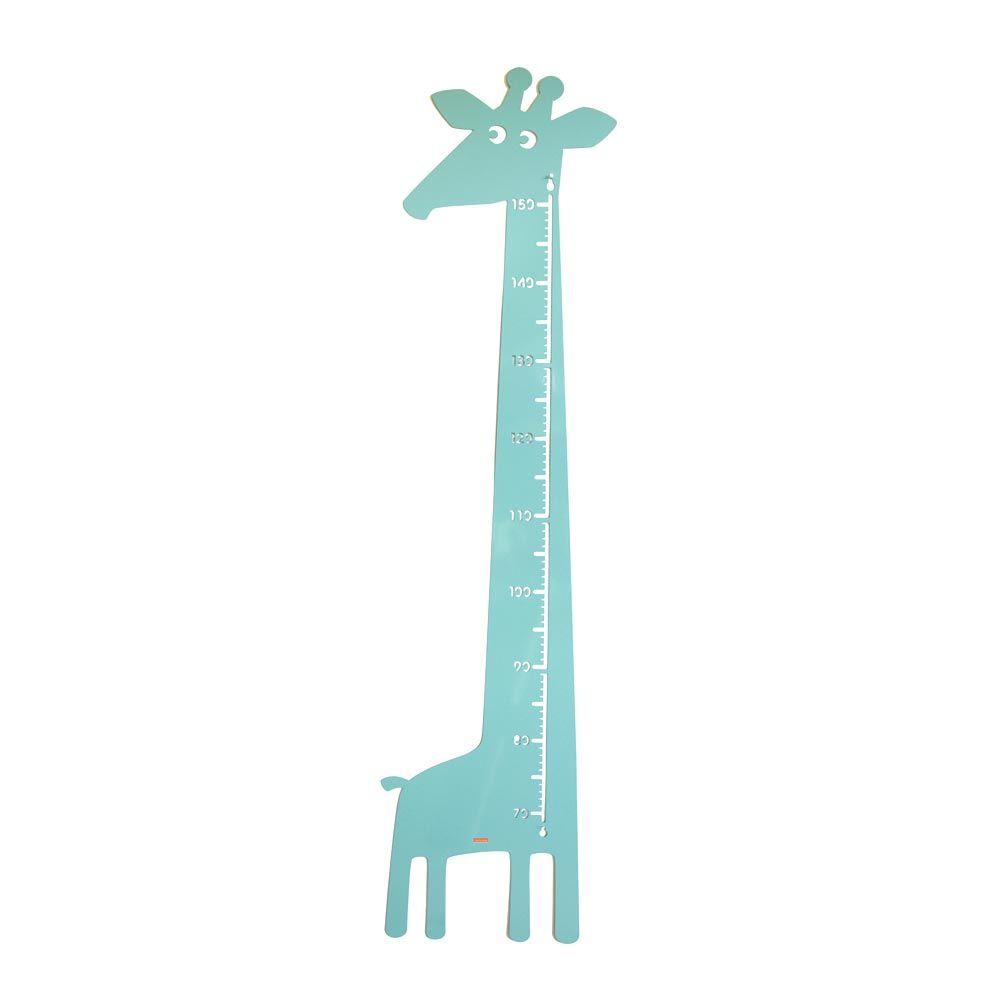 Kinderräume roommate messlatte giraffe metall mint bei kinder räume