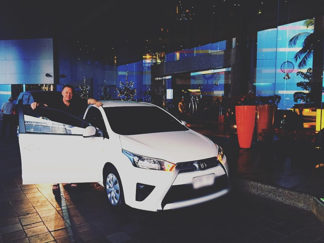 Thank You Mr Fanning From Singapore For Choosing Our Toyota