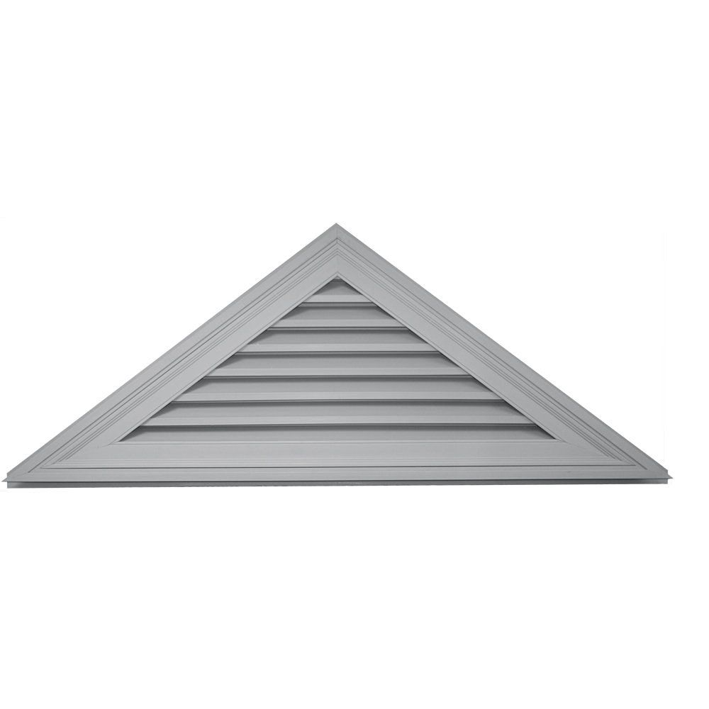 Builders Edge 120140907030 62 X 23 9 12 Pitch Triangle Vent 030 Paintable You Can Get Additional Details At Th Gable Vents Builders Edge Fiberglass Screen