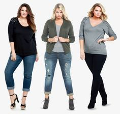 How to love your casual plus size clothes, dress your body type ...