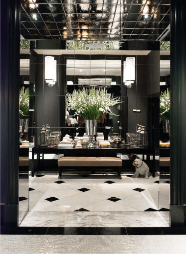 Is back from rosewood london elegant interiors and for Hotel design london