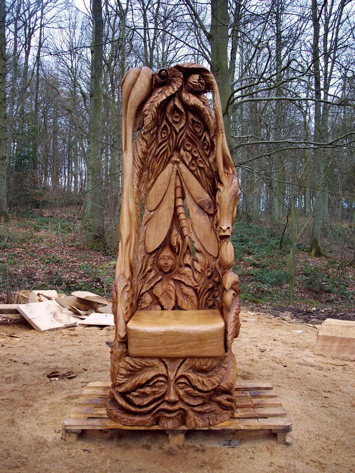 Incredible chainsaw sculptures woods wood carving and