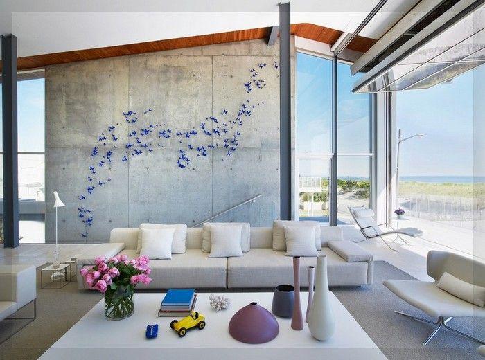 Modernes Wohnzimmer Wandkunst Ideen #wohnzimmer #solebeich #solebich