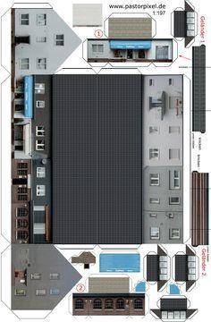 Ausschneidebogen Haus Bauanleitung Bogen Ausschneiden Und 3d Papier