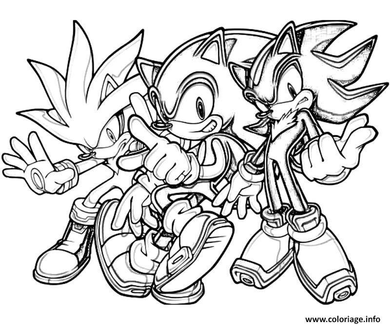 épinglé Par Fifi Rose Sur Image Coloriage Sonic Coloriage