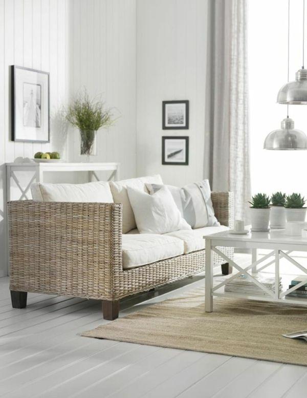 Rattanmöbel wohnzimmer  Rattanmöbel im Innenbereich- welche sind die Vorteile der ...