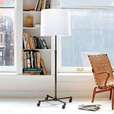 Adjustable Pipe Floor Lamp