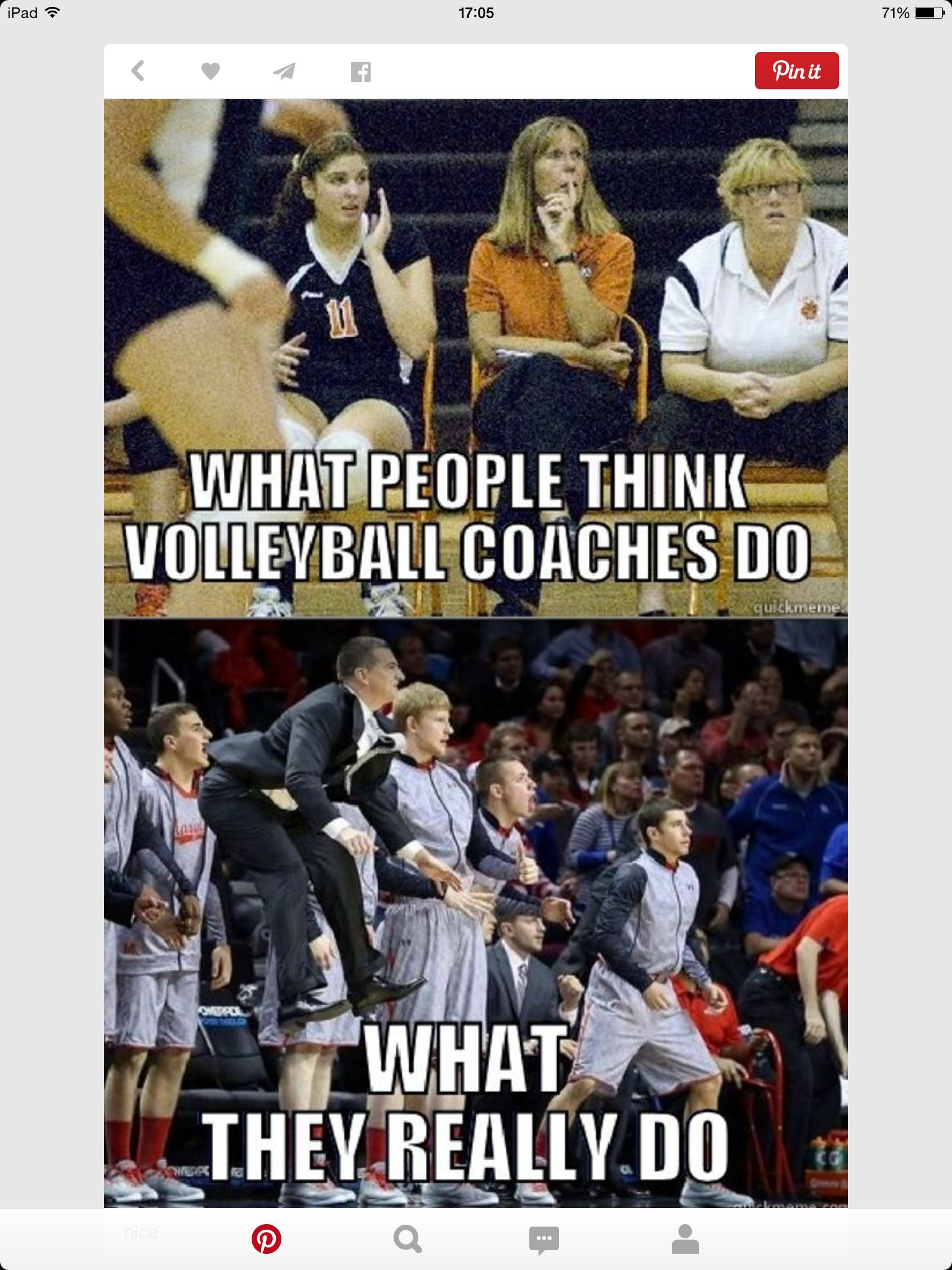 Coaches Volleybal Volleyball Humor Coaching Volleyball Volleyball Memes