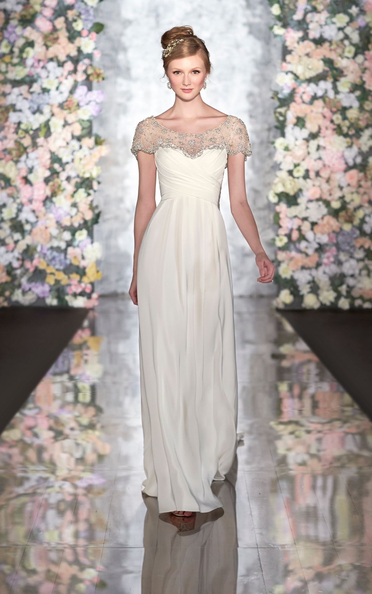 Great gatsby inspired wedding dresses   us Great Gatsby and Downton Abbey Inspired Wedding Dresses