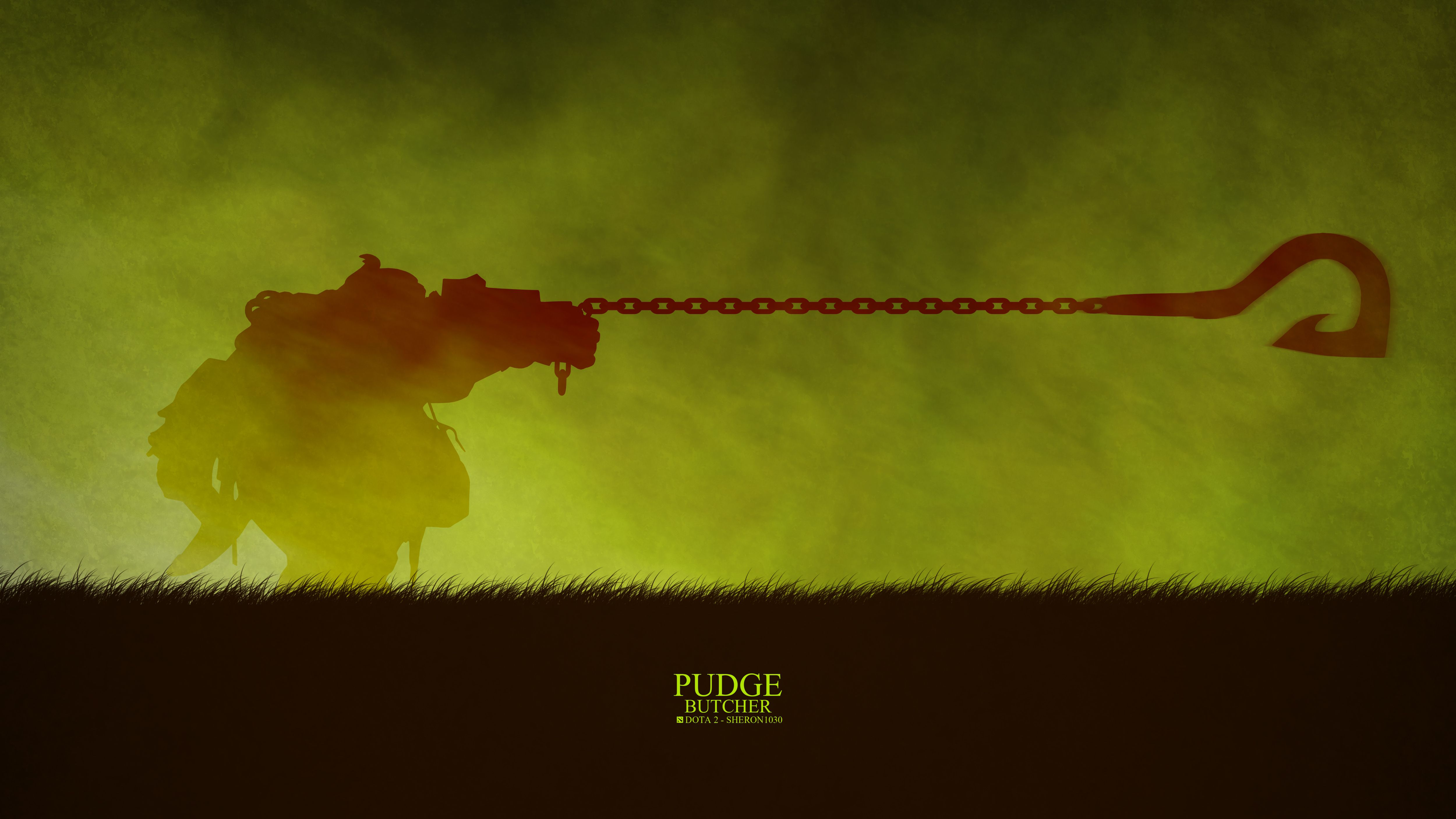 Pudge Minimal 2 Wallpaper, More: Http://dota2walls.com