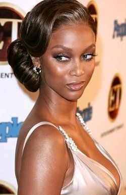 Wedding Updos Weave Sytles Black Hairstyles Clic Fall Updo Celebrity Inspired Style